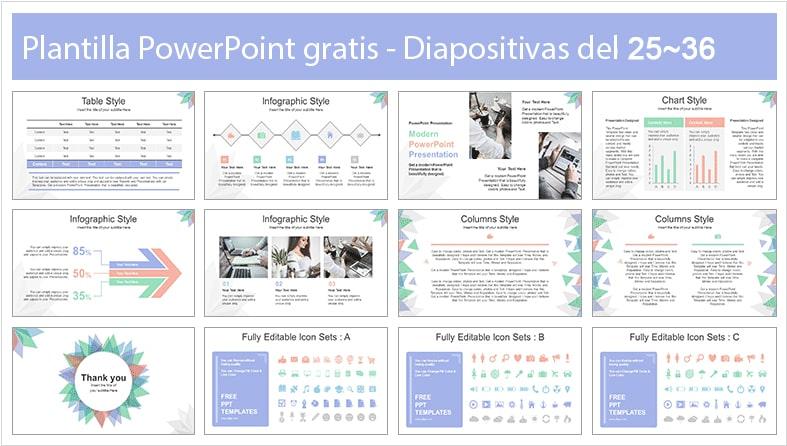 diapositivas abstractas.