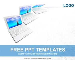 Plantilla laptops powerpoint