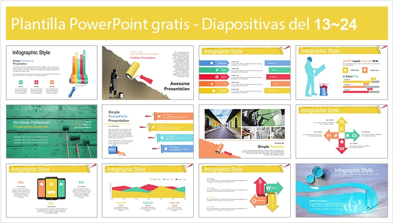 Home renovation power point template free.