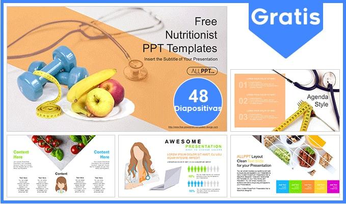 Plantilla power point de nutricion gratis.