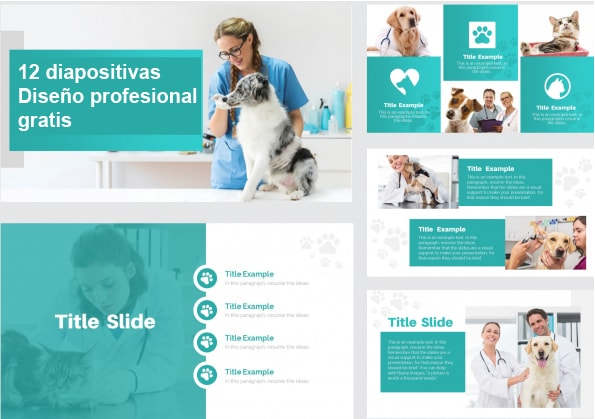 free veterinary power point template.