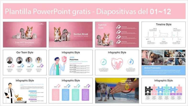 plantilla de clinica veterinaria en power point gratis.