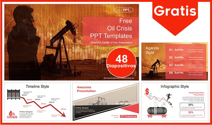 plantilla power point de petroleo gratis.