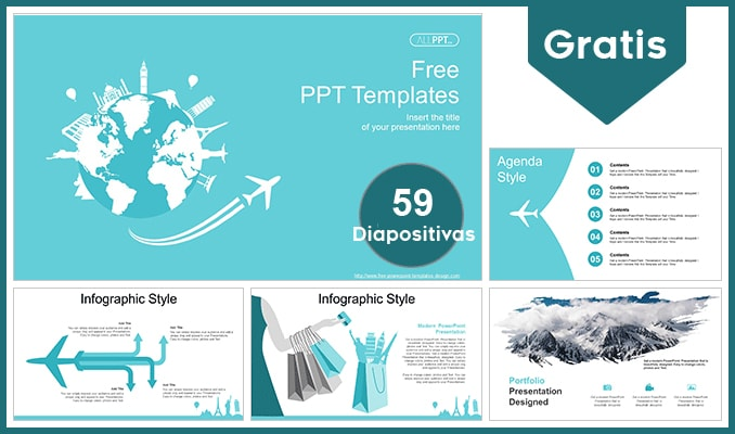 Plantillas Power Point De Viajes Y Turismo Plantillas Power Point Gratis