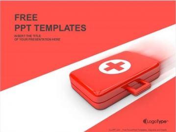 Plantilla botiquin de primeros auxilios para powerpoint.