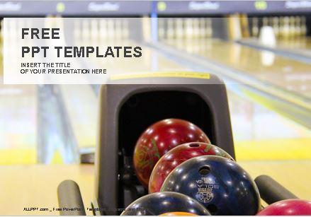 Plantillas de bowling para Powerpoint.