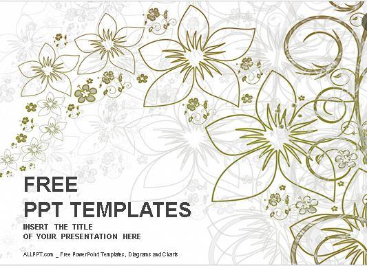 Plantilla-diseño-floral-powerpoint