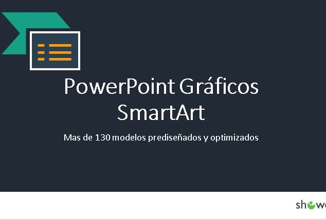 Power Point gráficos Smart art.