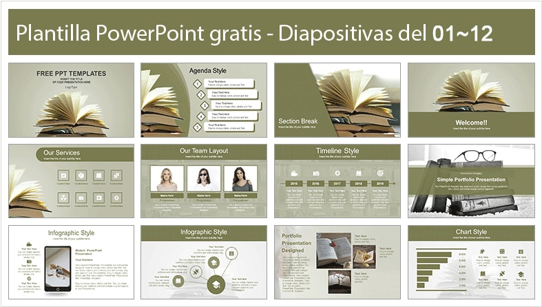 History Power Point Template free.