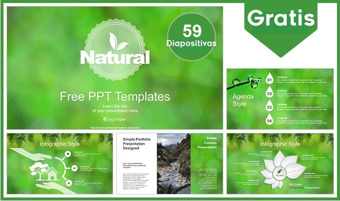 Plantilla Power Point de Medio Ambiente gratis