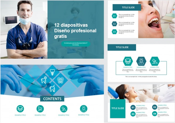 Dentist Power point template free.