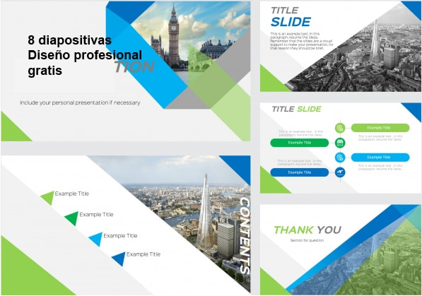London Power Point Template free,