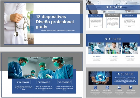 Power Point template free for Physicians.