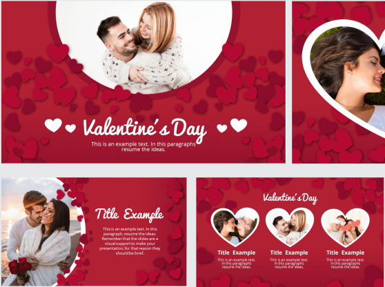 Template free for Valentine's Power Point