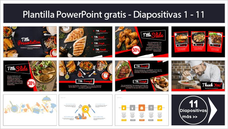 plantillas power point para restaurantes ppt gratis.