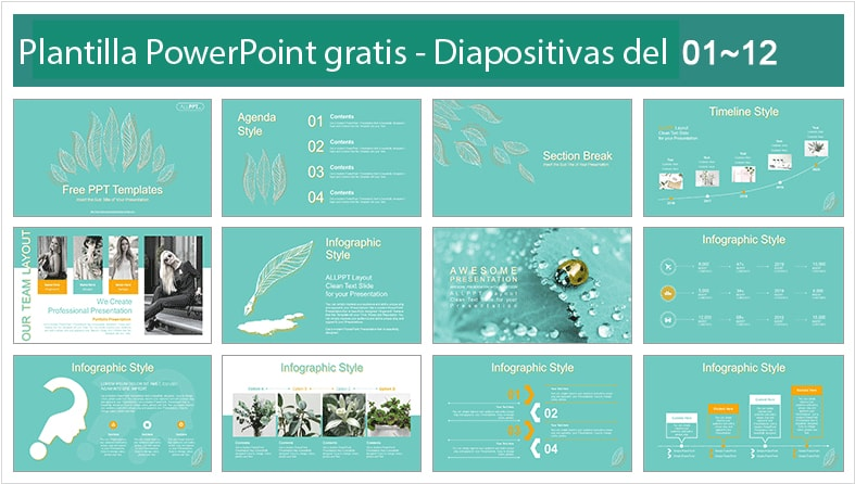 Power point template free linear Style.