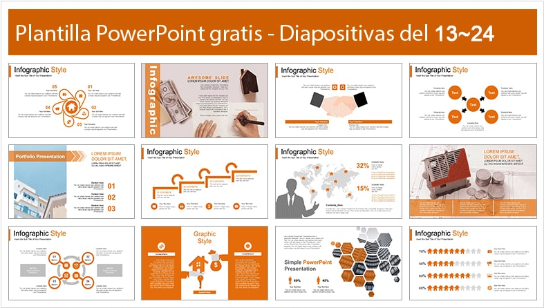 Plantilla power point de condominio.
