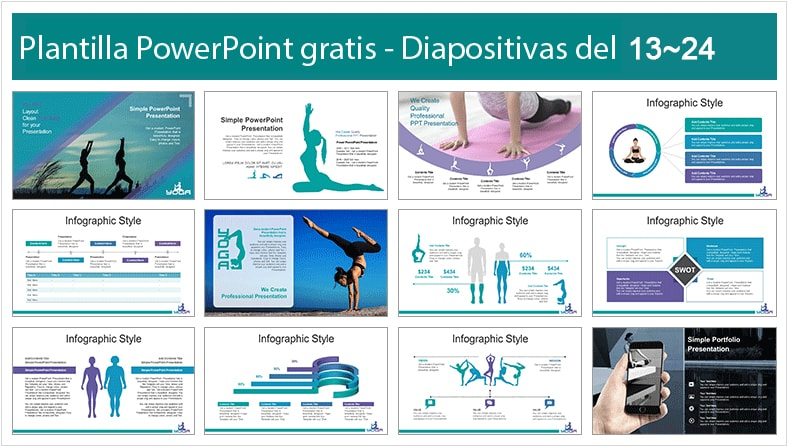 Plantilla power point de Meditación gratis.