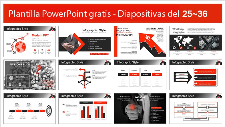 Plantilla power point de metas.