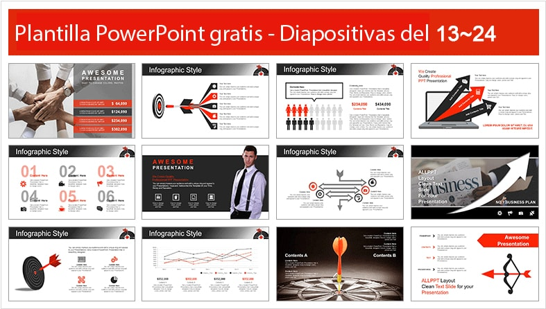 plantilla power point de objetivos.
