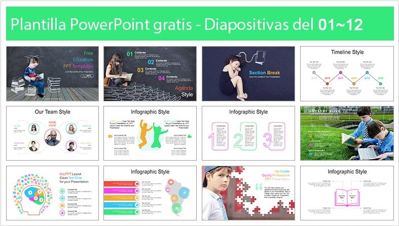 Power point template for Schoolchildren free.