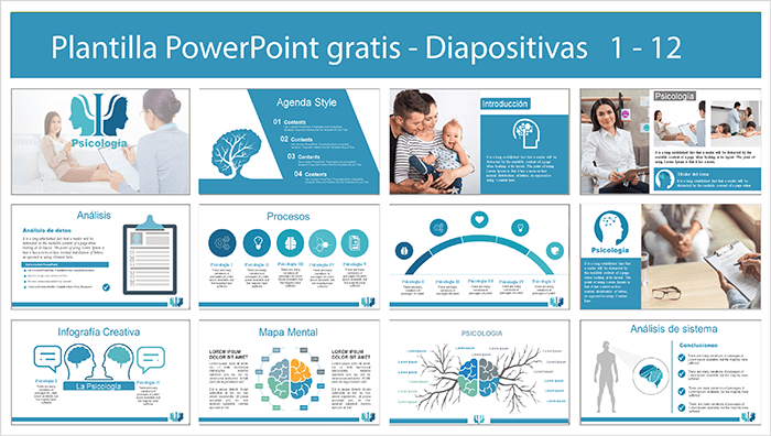 Psychology power point template free.