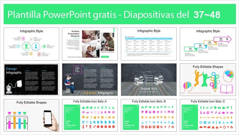 Plantilla power point de educacion inicial gratis.