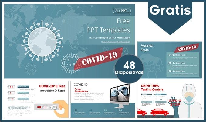 Plantilla power point del covid 19 gratis.