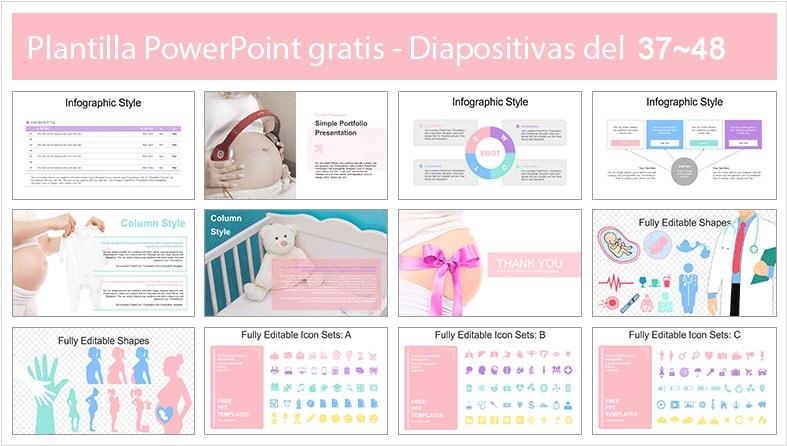 ppt de embarazo presentación diapositivas.