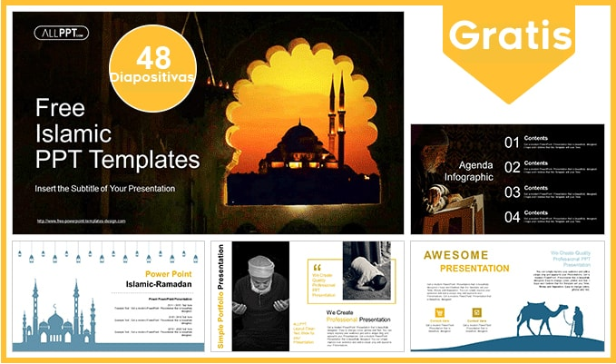 plantilla power point de islam gratis.