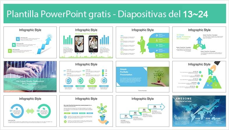 plantilla de reactivacion economica para powerpoint.