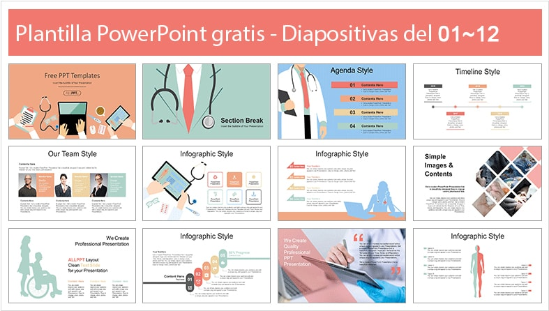 Medical Consultation Powerpoint Template free.
