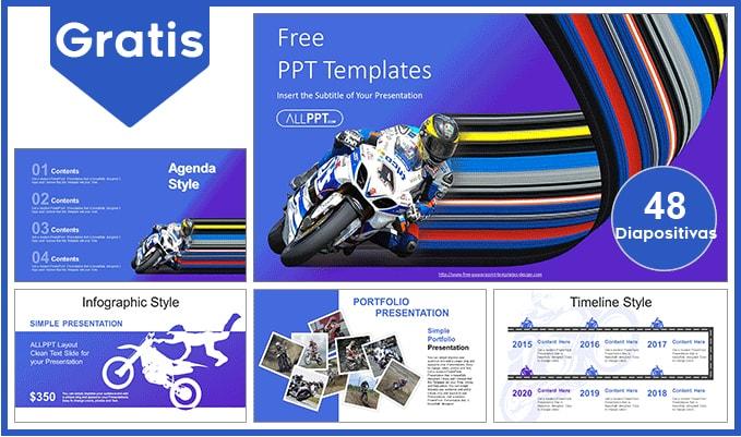 plantilla power point de motos gratis.