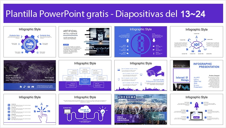 plantilla power point de cuidad inteligente gratis.