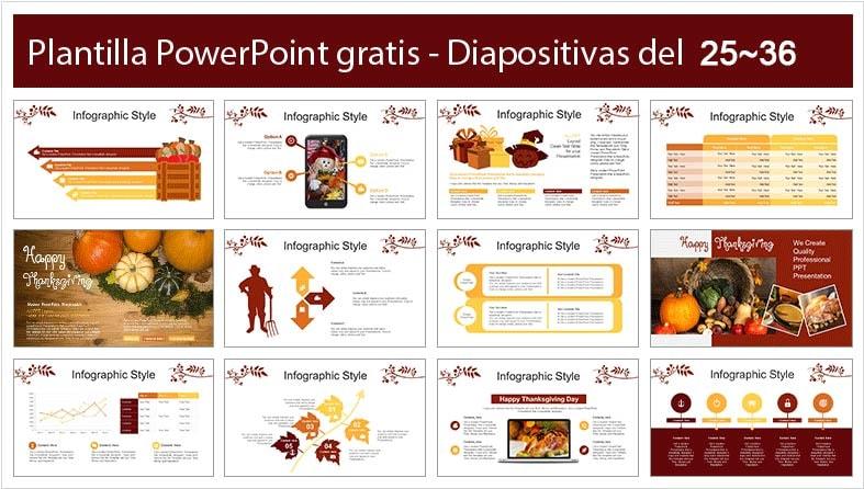 slide celebracion de accion de gracias.