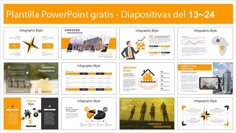 plantilla de credito hipotecario en powerpoint gratis.