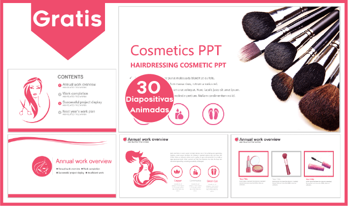 Plantillas power point de cosmetología para descargar gratis.