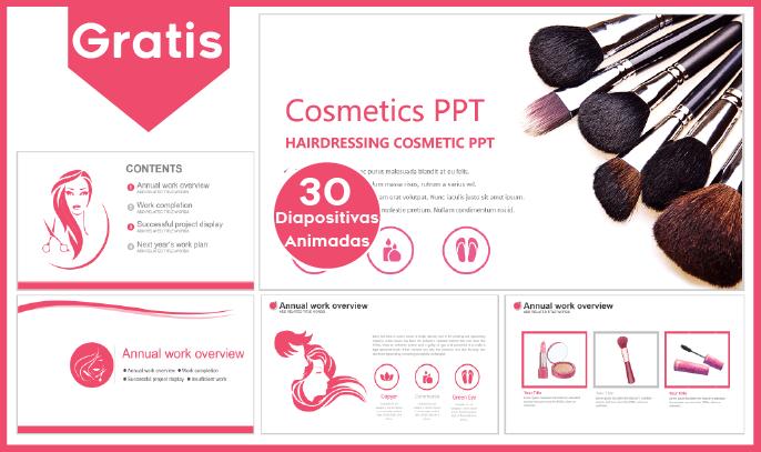 Plantillas power point de cosmetología para descargar gratis.