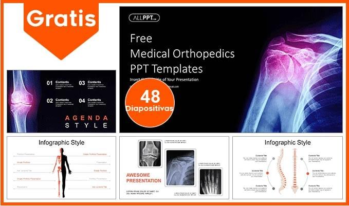 plantilla power point de ortopedia para descargar gratis.