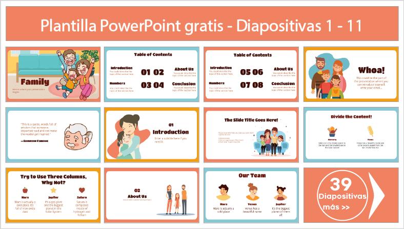 plantillas power point de familia para descargar gratis ppt.