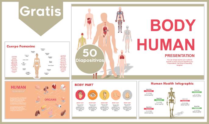 Plantilla PowerPoint Del Cuerpo Humano Para Descargar Gratis