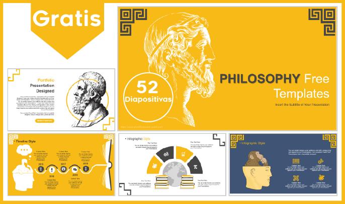 Plantilla PowerPoint de filosofía para Descargar.