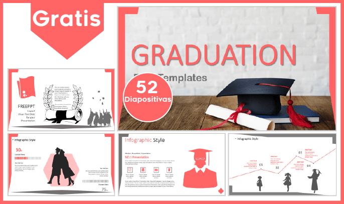 Plantilla PowerPoint de Graduación para Descargar.