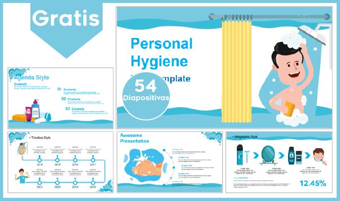 Plantilla PowerPoint De Higiene Personal Para Descargar.