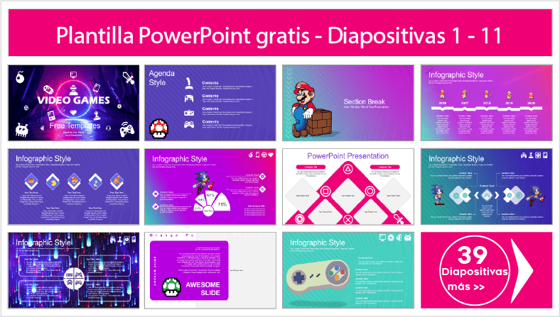 plantillas power point de videojuegos para descargar gratis ppt.