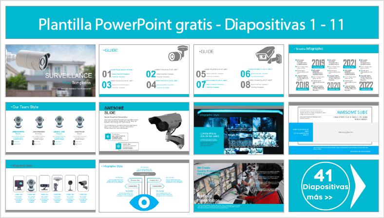 plantillas de vigilancia para powerpoint para descargar.